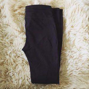 Gap Fit eggplant leggings